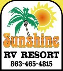 Affordable Lake Placid Florida Camping Sunshine RV Resort daily weekly monthly annual rates your RV or one of ours
